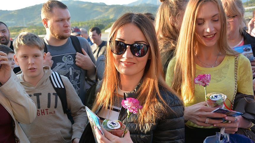 Rus turistlerin yaz sezonu tercihi yine Türkiye