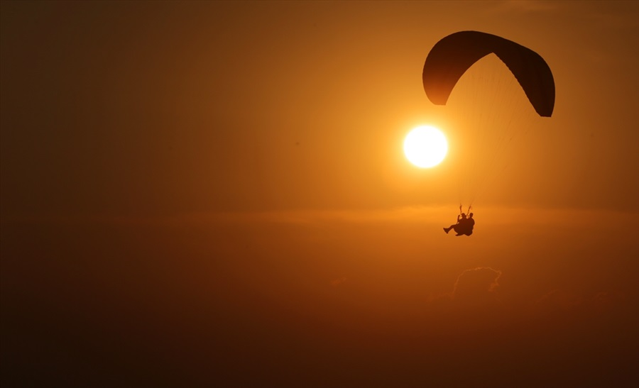 Adana'da gün batımı