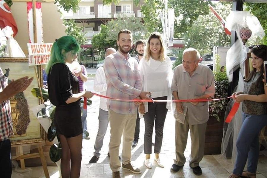 Ceyhan'da resim sergisi açıldı