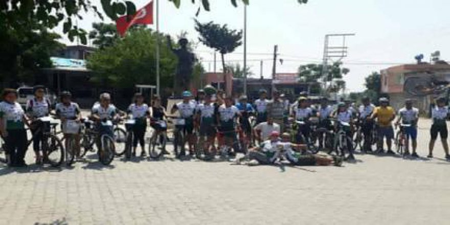 Adana Bisiklet Festivalinin Karataş'ta Renkli Görüntüler ile gerçekleştirildi.