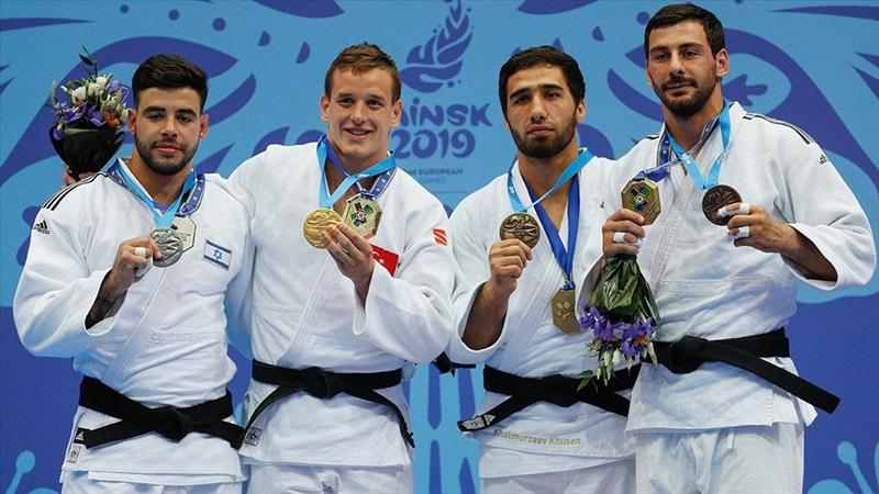 Türkiye 2019 Avrupa Oyunları'nın 4. gününü 1 altınla kapattı