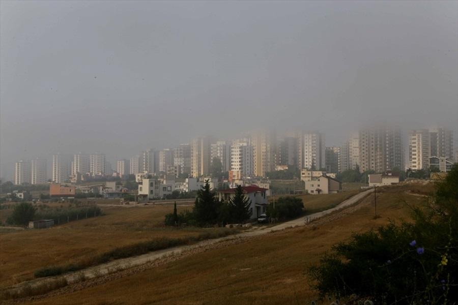 Adana'da sis