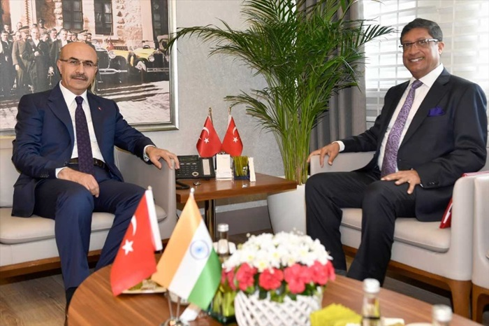 Türkiye-Hindistan ticaret hacminde 10 milyar dolar hedefi