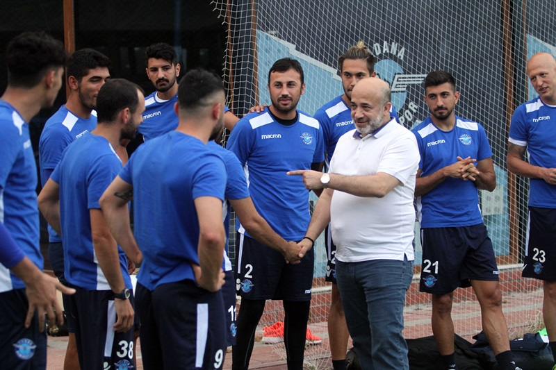 Adana Demirspor'da başkan Sancak görevi bırakıyor