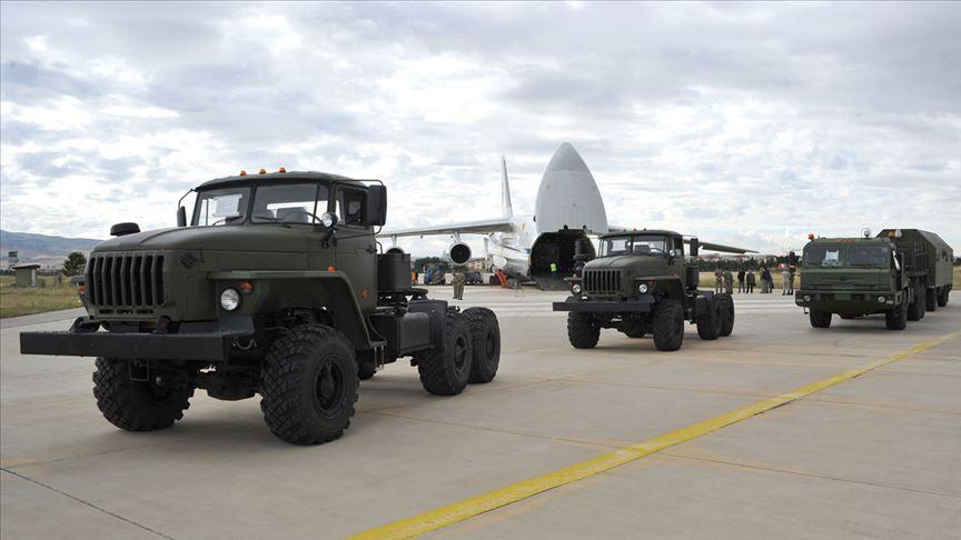 S-400 sevkiyatının birinci grubu tamamlandı