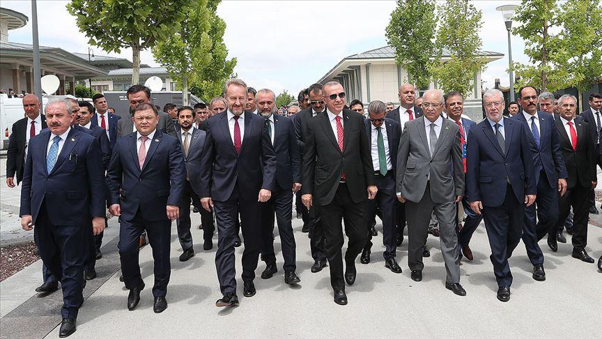 Erdoğan, 15 Temmuz özel oturumu izlemek üzere TBMM'de
