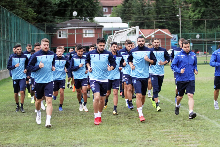 Adana Demirspor yeni sezon hazırlıklarını Bolu'da sürdürüyor..