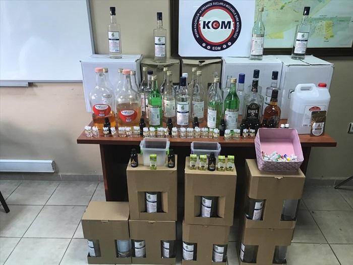 Adana'da 300 polisle yılbaşı öncesi kaçak ve sahte içki denetimi