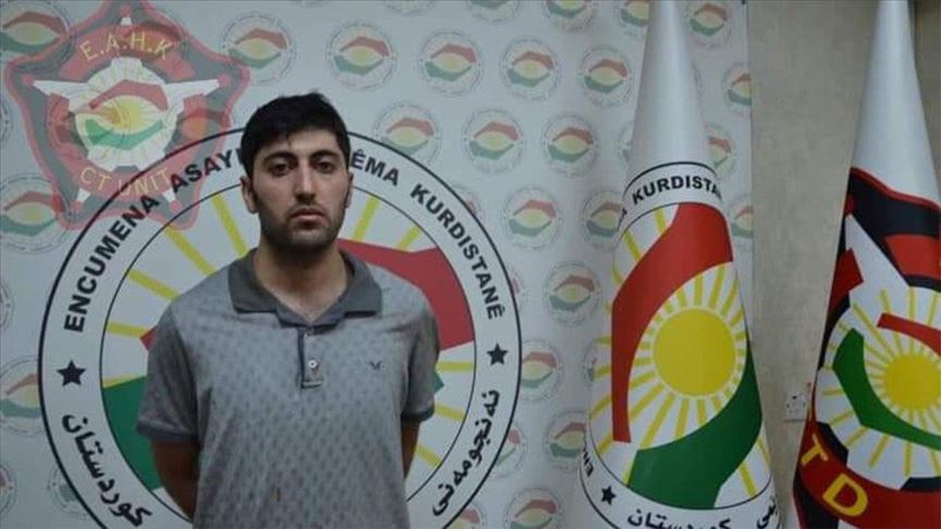 Erbil saldırısının baş faili Mazlum Dağ yakalandı