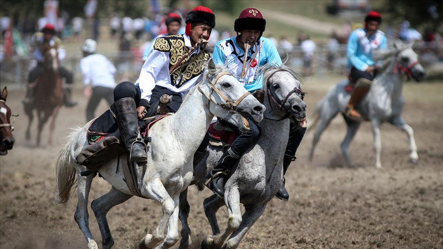 4. Türk Dünyası Ata Sporları Şenliği başladı