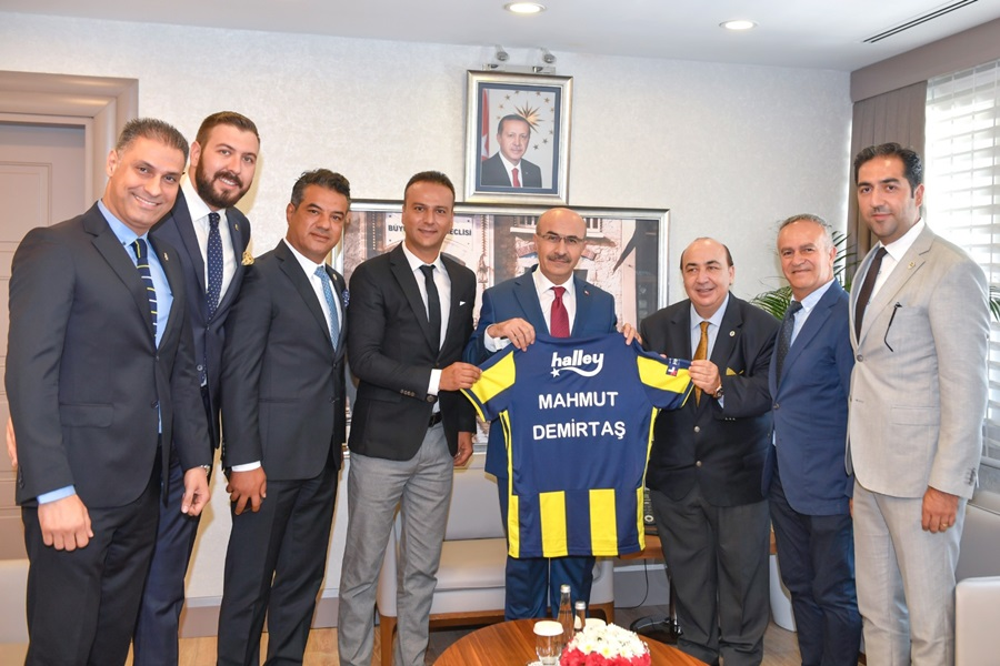 İstanbul Fenerbahçe Üniversitesi Rektöründen Vali Demirtaş'a Ziyaret
