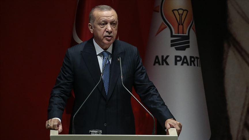 Erdoğan: Aramıza fesat sokmak isteyenlere asla fırsat vermeyeceğiz
