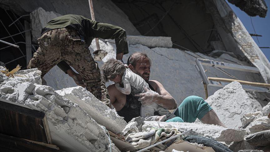 AB İdlib'deki saldırıların durdurulması çağrısında bulundu