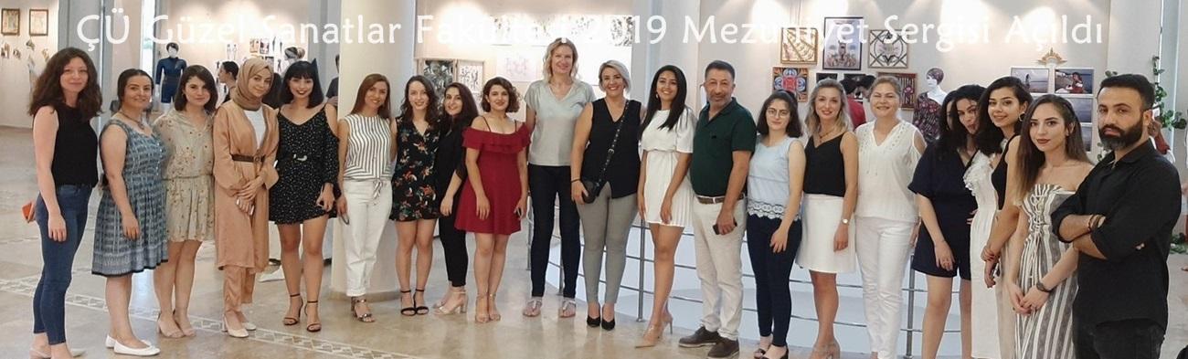 Çukurova Üniversitesi Güzel Sanatlar Fakültesi 2019 Mezuniyet Sergisi Açıldı