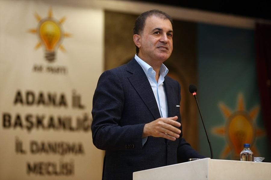 """Ömer Çelik: """"Bütün dünya Türkiye'yi takdir ederken, eleştiri CHP'den geliyor"""""""