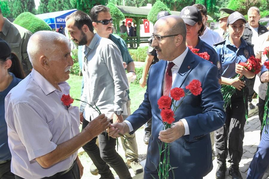 Vali Demirtaş'tan Kurban Bayramı Ziyaretleri