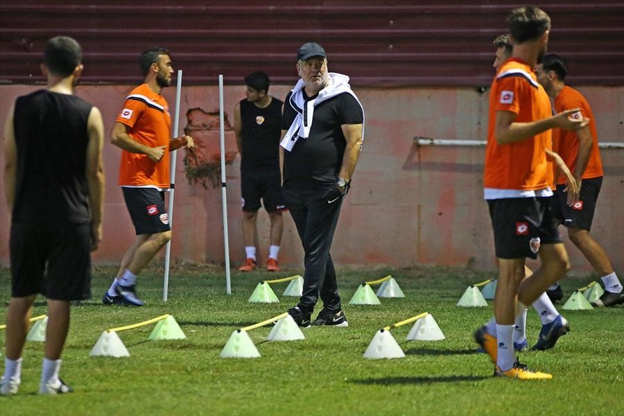 Adanaspor, Eskişehirspor maçı hazırlıklarına başladı