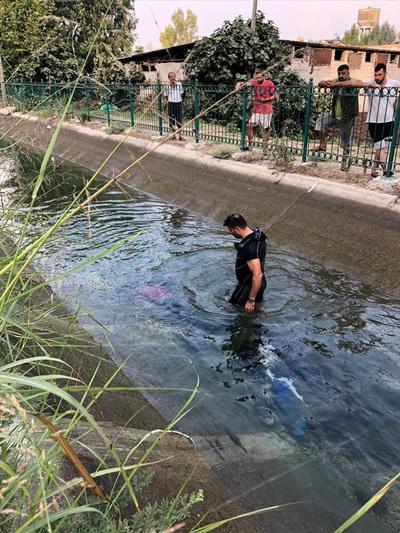 Adana'da sulama kanalında ceset bulundu