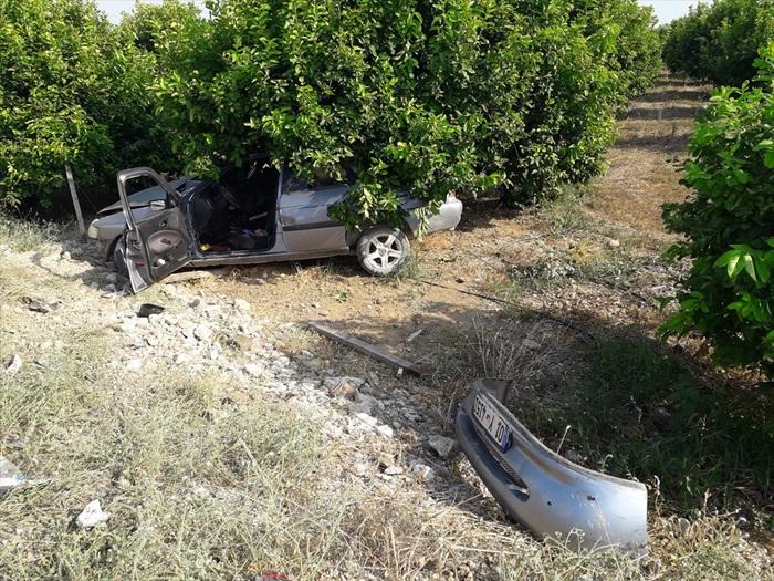 Adana'da iki otomobil çarpıştı: 1 ölü, 3 yaralı