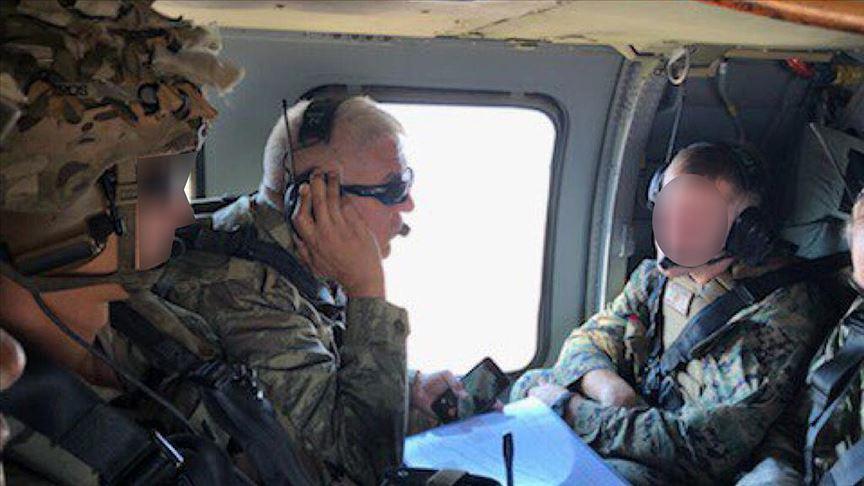 Pentagon'dan 'Fırat'ın doğusunda ilk ortak helikopter uçuşu' açıklaması