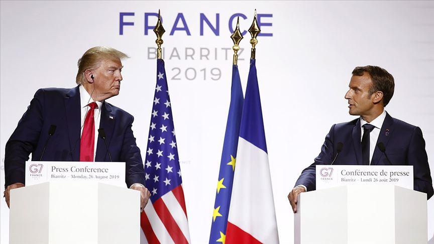 Macron: Trump ile Ruhani'nin görüşebilmesi için şartları oluşturduk
