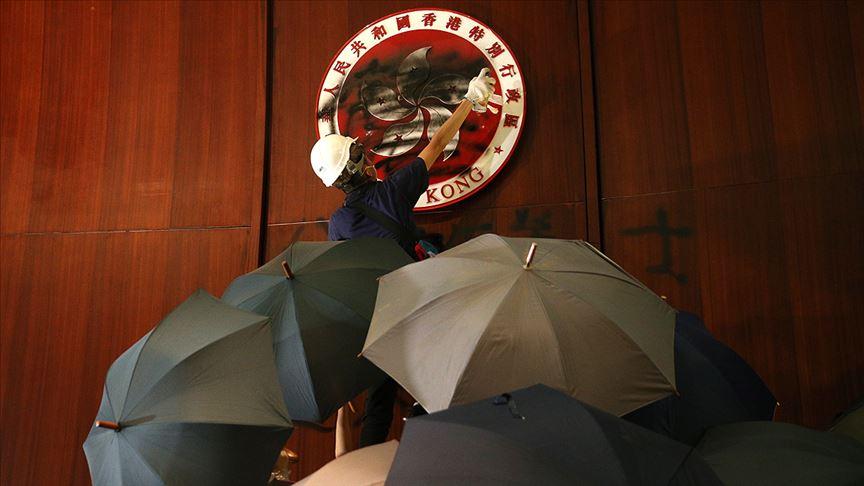 Hong Kong'da tartışmalı tasarısının geri çekilmesi bekleniyor
