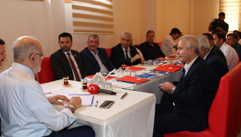 Saadet Partisi Genel Başkanı Karamollaoğlu Adana'da