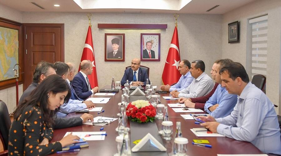 Küçük Sanayi Siteleri Toplantısı Vali Demirtaş Başkanlığında Gerçekleştirildi
