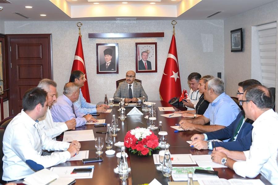"""""""3. Uluslararası Adana Lezzet Festivali"""" Yürütme Kurulu Toplantısı Gerçekleştirildi"""