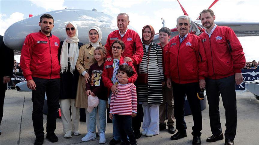 Erdoğan: Teknolojik dönüşüm sürecinde yeni teknolojilerin üreticisi olmak istiyoruz
