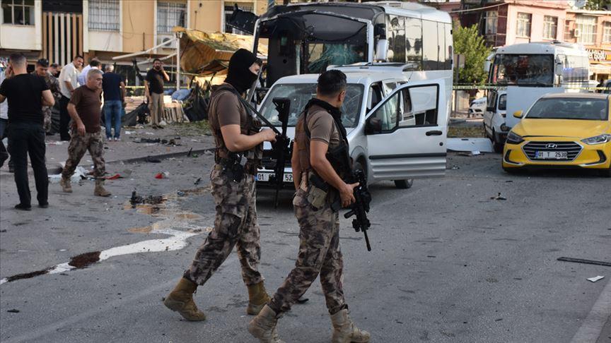 Adana'daki saldırıya ilişkin 2 terörist etkisiz hale getirildi