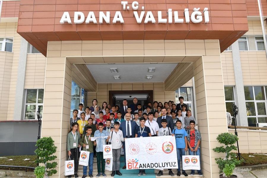 Şanlıurfa'dan Gelen Öğrenciler Vali Demirtaş'ı Ziyaret Etti..