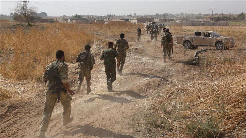 Suriye Milli Ordusu terörle mücadelede 224 şehit verdi
