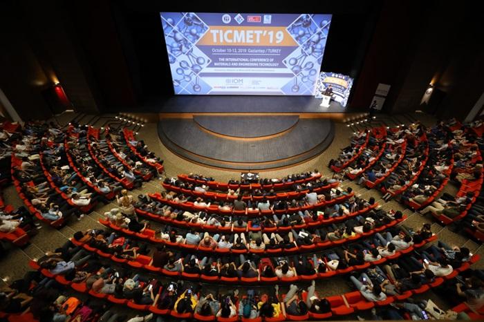 HKÜ Uluslararası Malzeme ve Mühendislik Teknolojileri Konferansında