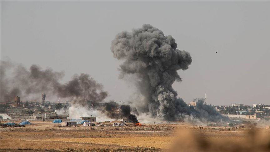 MSB: PKK/YPG'li teröristlerce 20 taciz/ihlal gerçekleştirildi