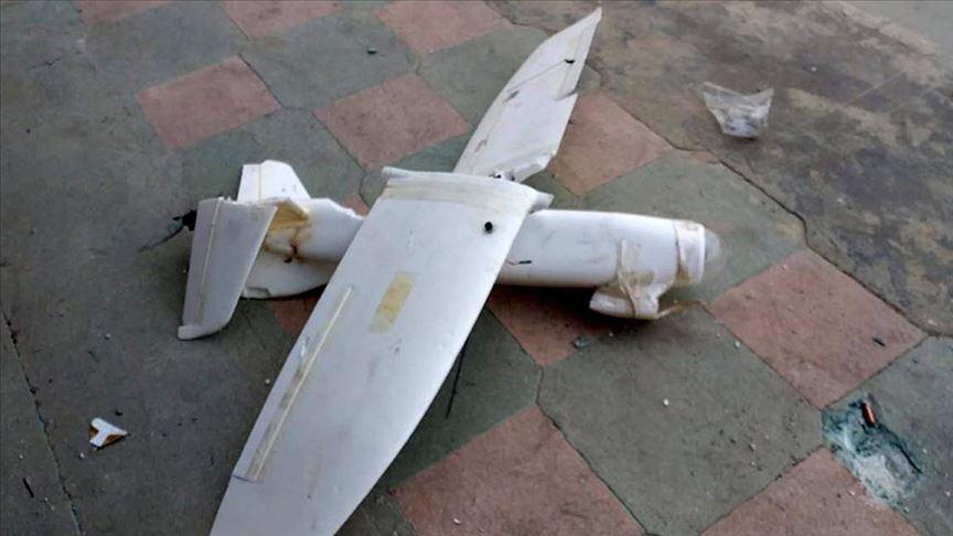 Terör örgütü YPG/PKK'nın insansız hava aracı düşürüldü