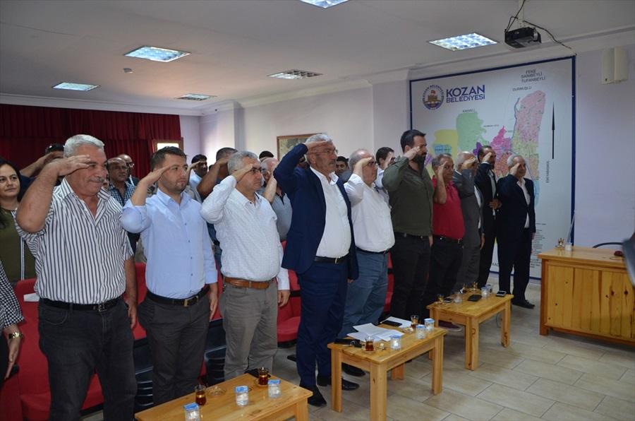 Kozan'dan Barış Pınarı Harekatı'na destek..