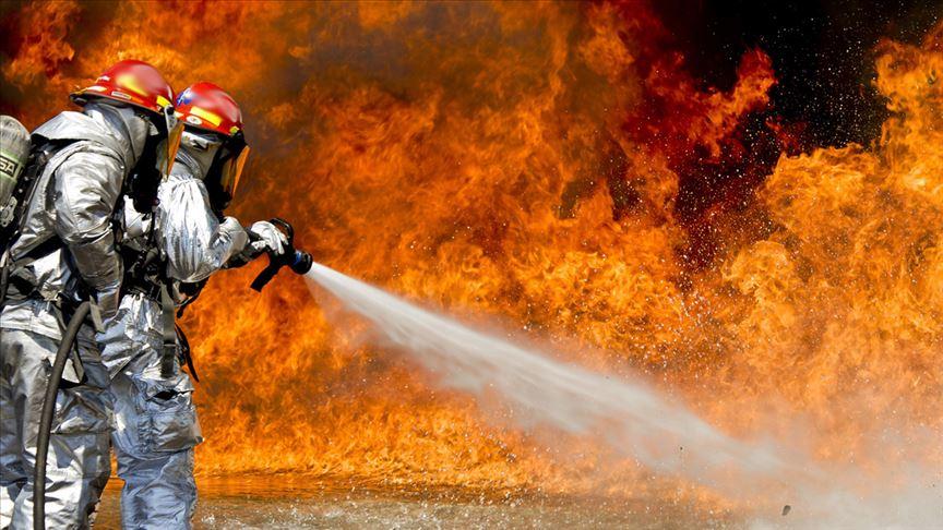 Adana'da fabrika yangını: 1 ölü