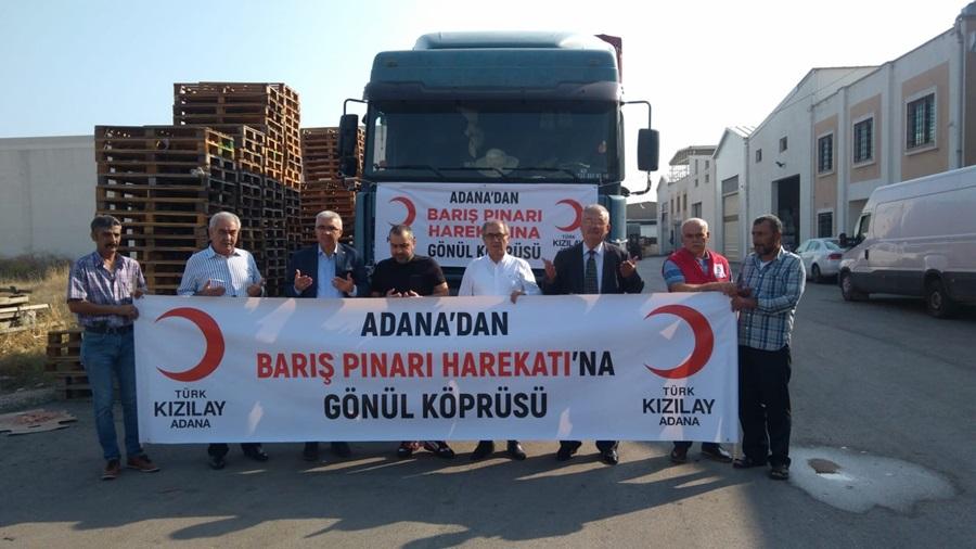 """Barış Pınarı Harekatına """"Gönül Köprüsü"""""""