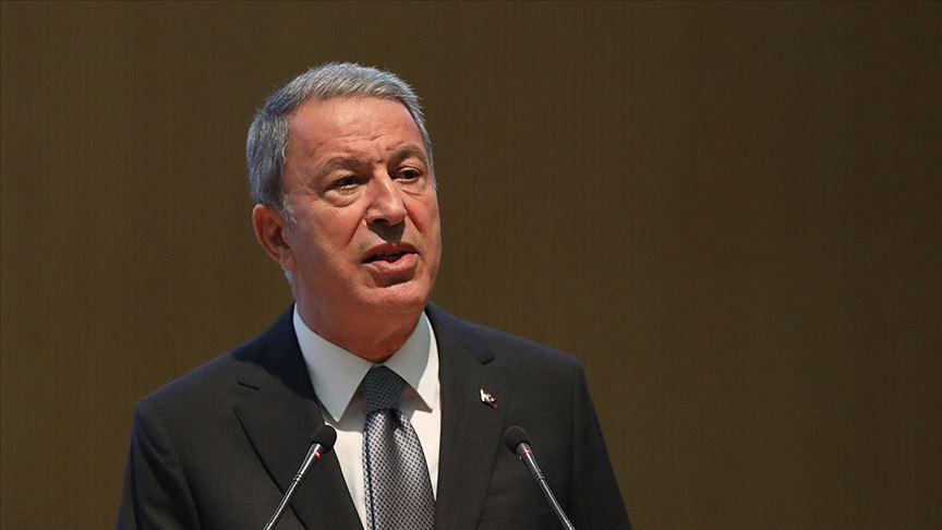 Bakanı Akar: Libya mutabakatları diğer ülkelere karşı bir tehdit değildir