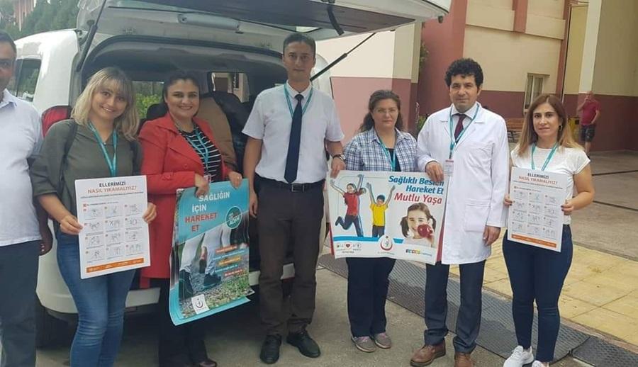 ÇDH'in sağlık melekleri Aladağ'daki öğrencilere hediye dağıttı