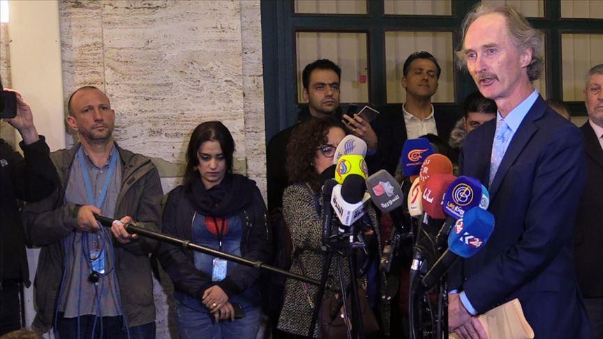 Pedersen: Suriye Anayasa Komitesi tarafları ilerlemeye istekli