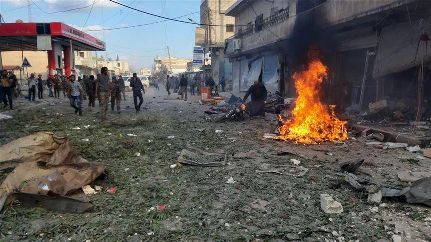 Tel Abyad'da bomba yüklü araçla saldırıda 8 sivil hayatını kaybetti