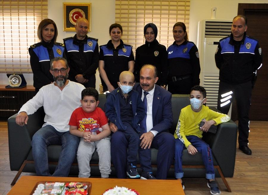 Adana polisi kök hücre kampanyasına destek olacak