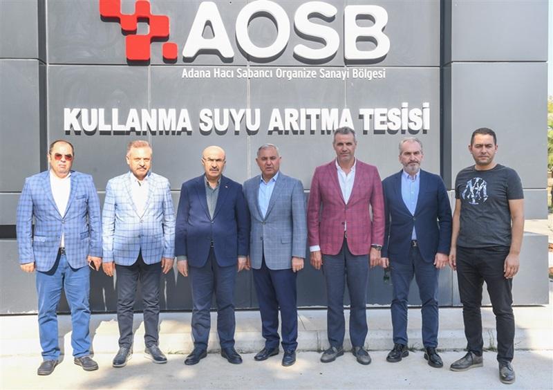 Vali Demirtaş AOSB Arıtma Tesislerine İnceleme Ziyaretinde Bulundu