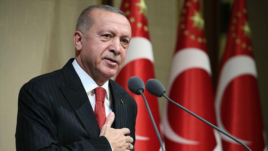 Erdoğan: ABD ziyaretinde öncelikli konumuz terörle mücadele