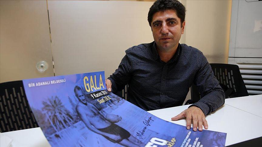 Adana Demirspor'un efsanesi 'Fofo Muharrem'in belgeseli çekildi