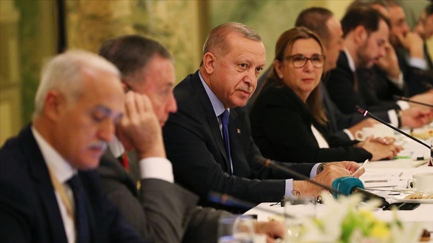 Erdoğan ABD'de Yuvarlak Masa Toplantısı'na katıldı