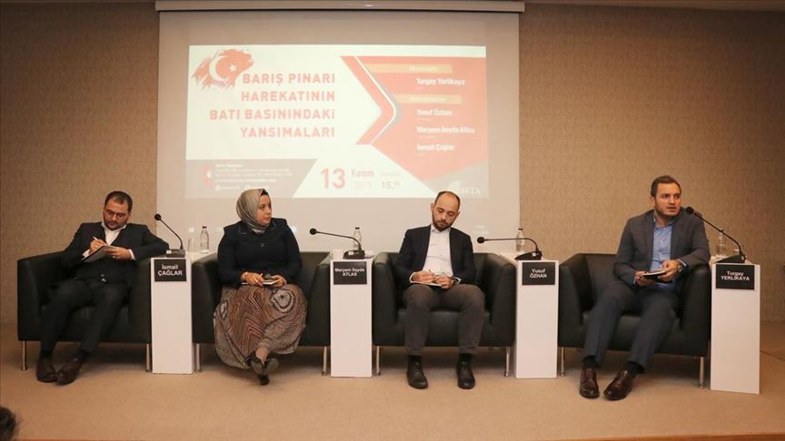 Barış Pınarı Harekatı'nın Batı basınına yansımaları konuşuldu