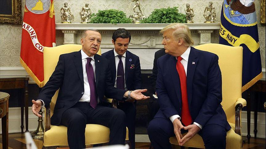 CANLI: Erdoğan ve Trump basın toplantısı düzenliyor